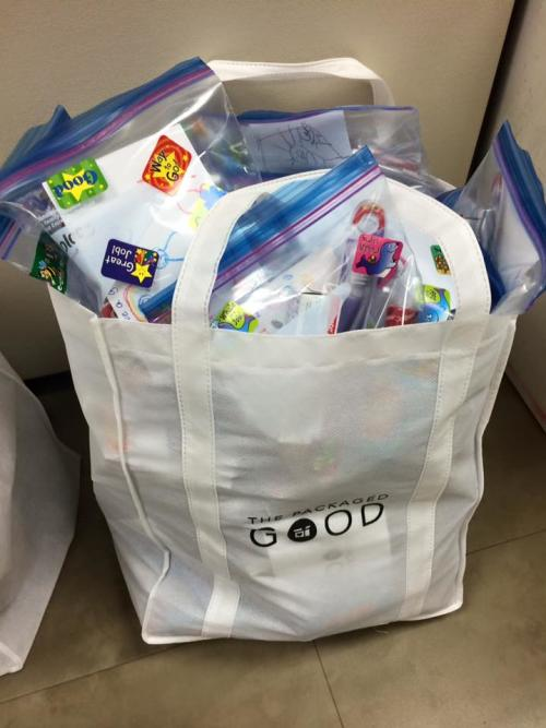 The Packaged Good Stocked Bag