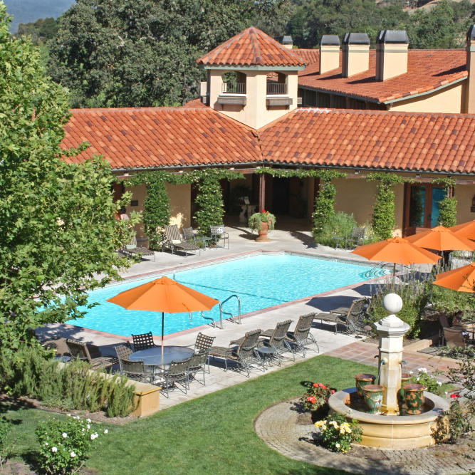 Yountville Hotel Pool