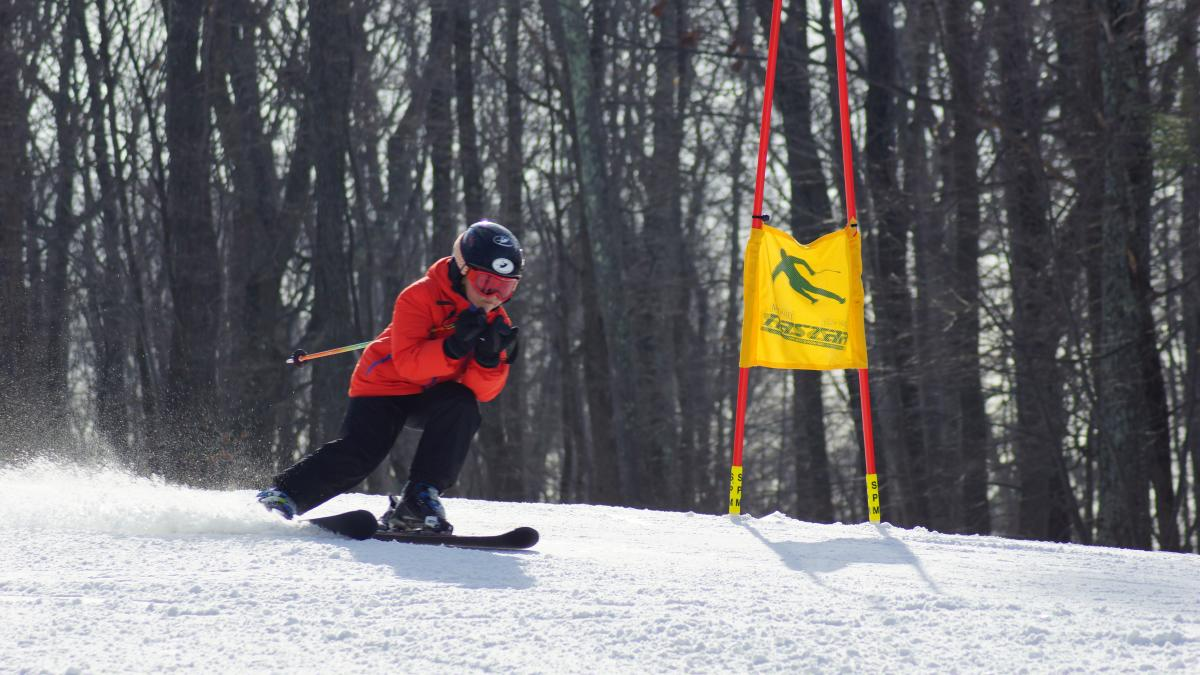 Skiing at Shawnee Mountain