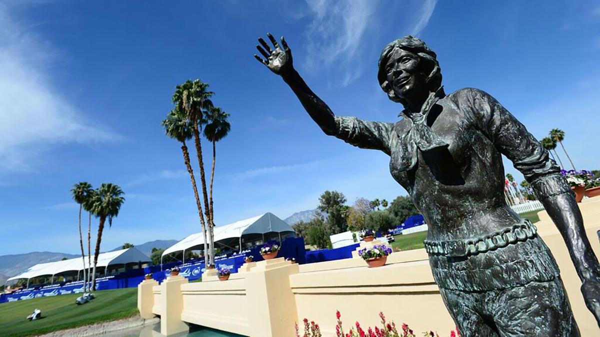 Dinah Statue at ANA Inspiration