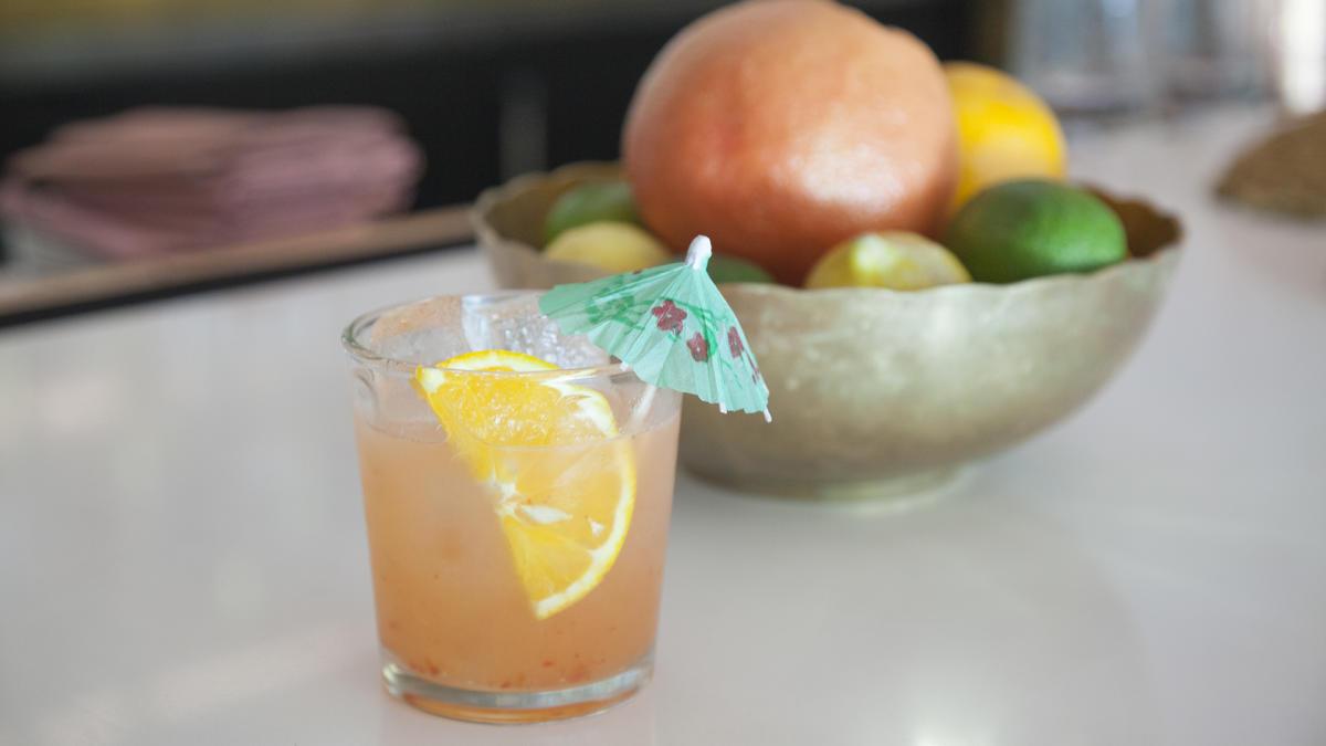 Pink Cabana cocktail