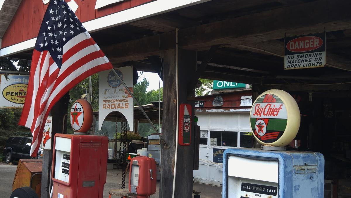 Klaums Farm gas station