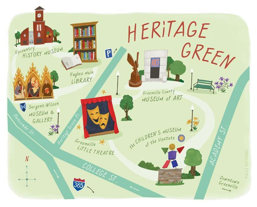Heritage Green Rendering