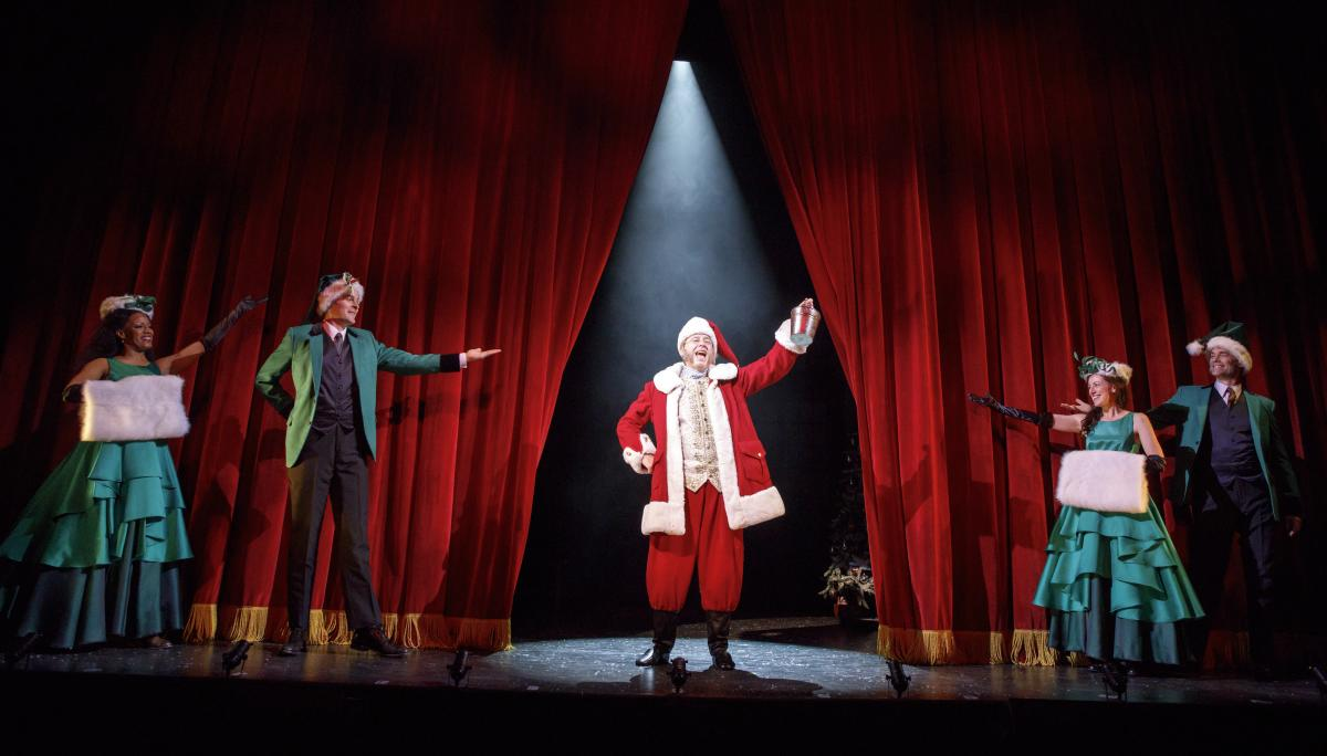 Ebenezer Scrooge at Bucks County Playhouse