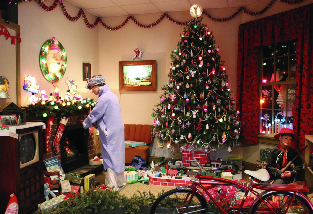 Christmas Museum Display