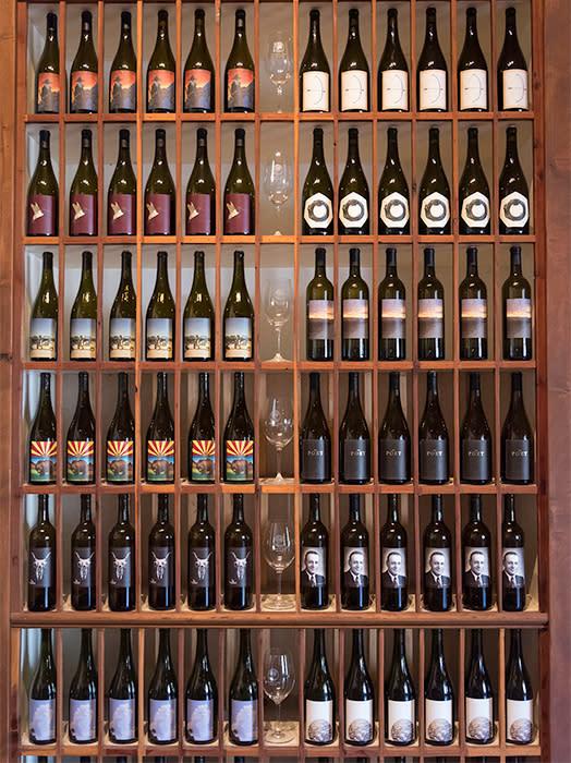 Verde Valley Wine rack