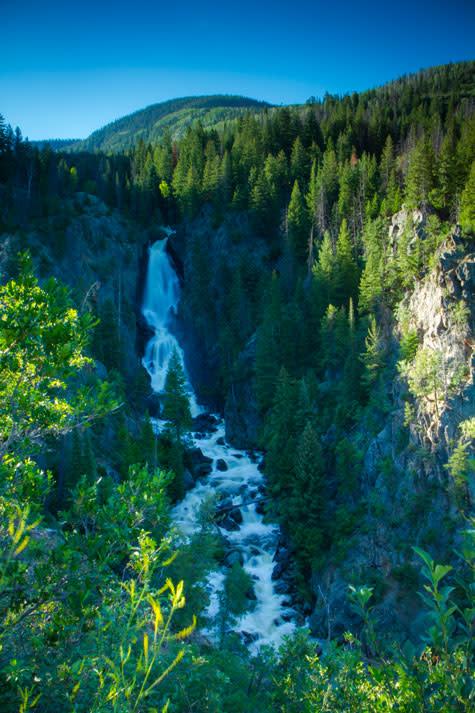 Fish Creek Falls Summer