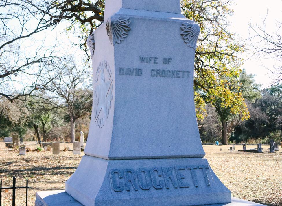 Elizabeth Crockett Historic Marker