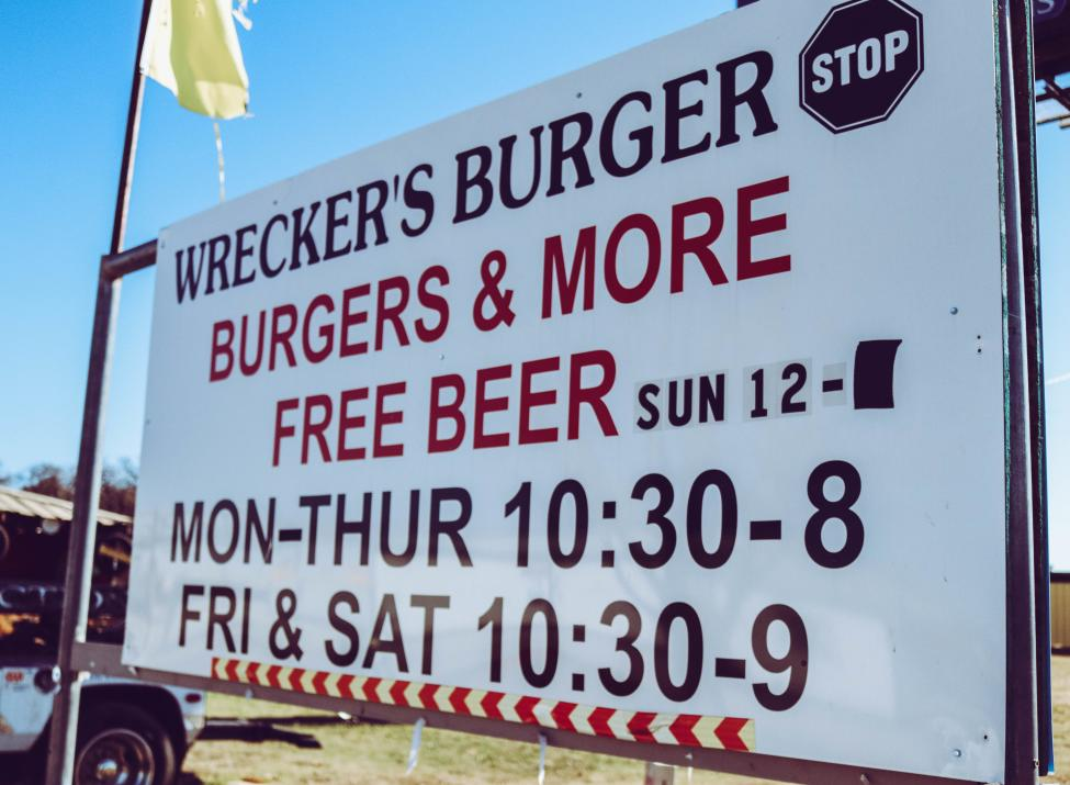Wrecker's Burger Stop