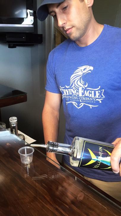 Sample Southwest Louisiana's first locally distilled vodka - Yellowfin Vodka in Sulphur.