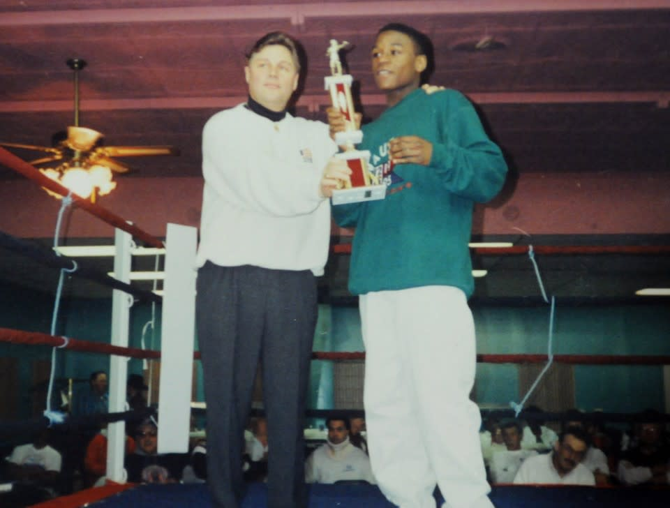 Dave Packer and Floyd Mayweather