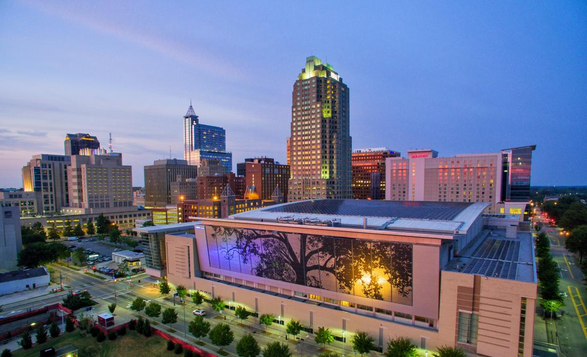 Convention Center Drone
