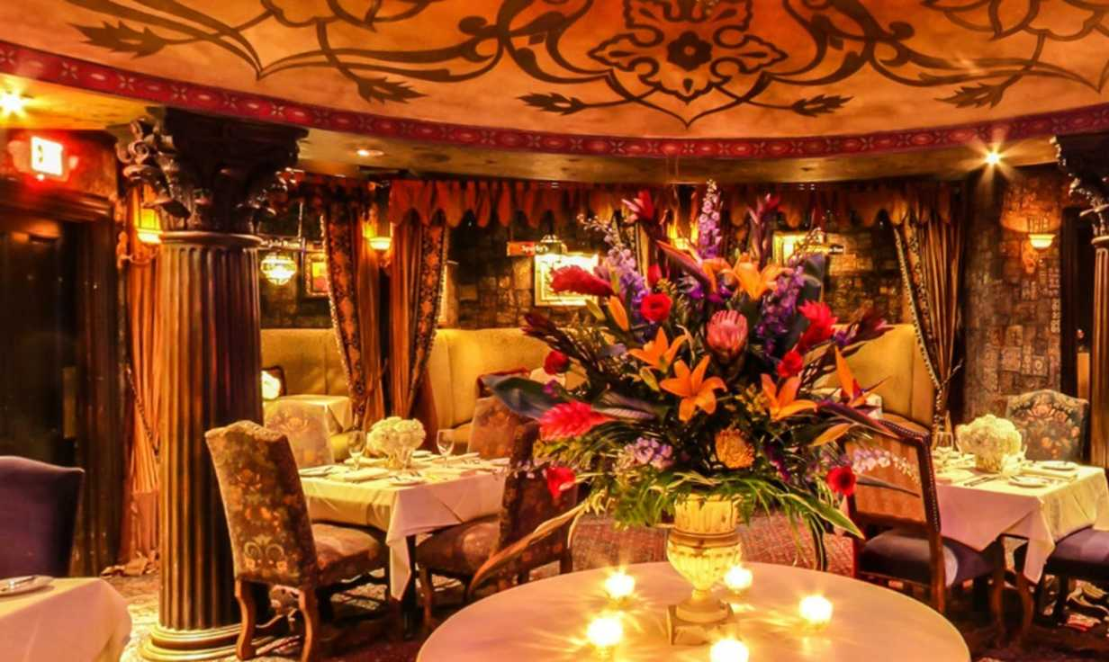 Foundation Room at House of Blues- Dining Room
