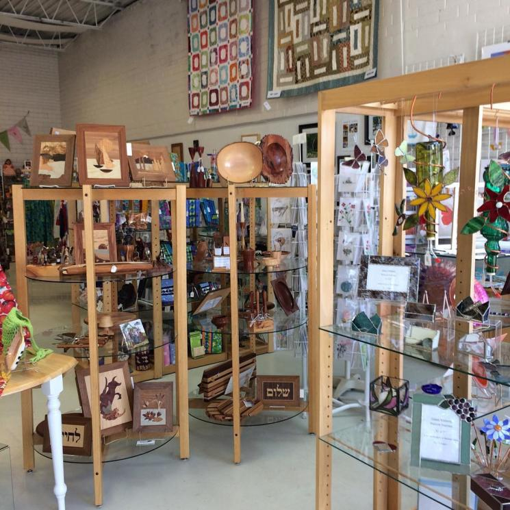 Womancraft shop in Carrboro