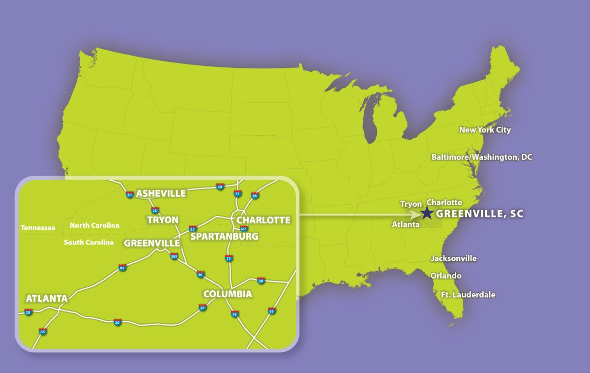 Where IS Greenville, SC?