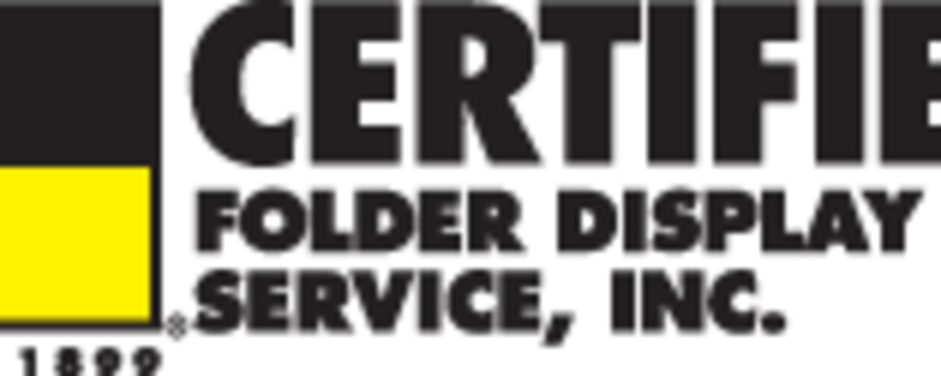 Logo - Certified Folder Display Services, Inc.
