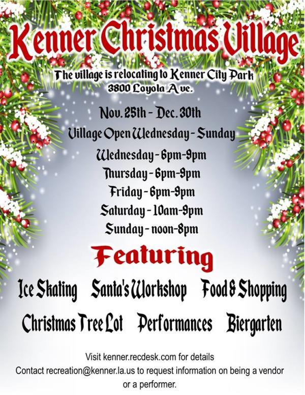Kenner Christmas Village