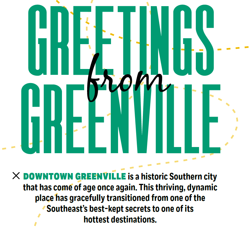 Greetings from Greenville