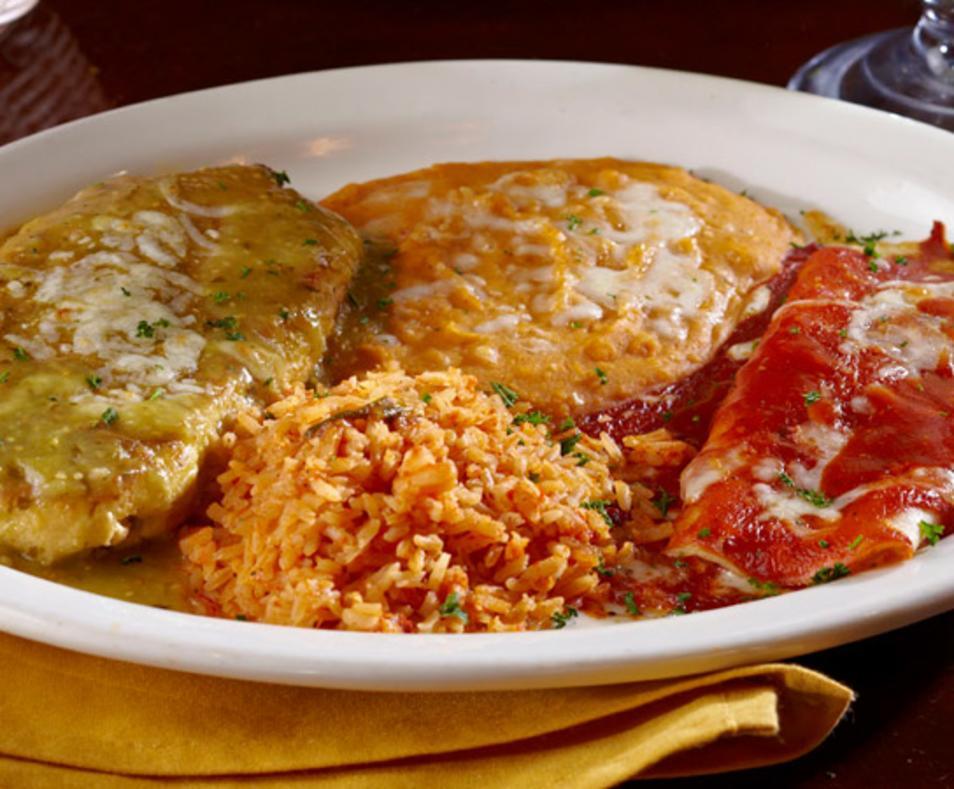 2 Item - Chile Relleno & Enchilada