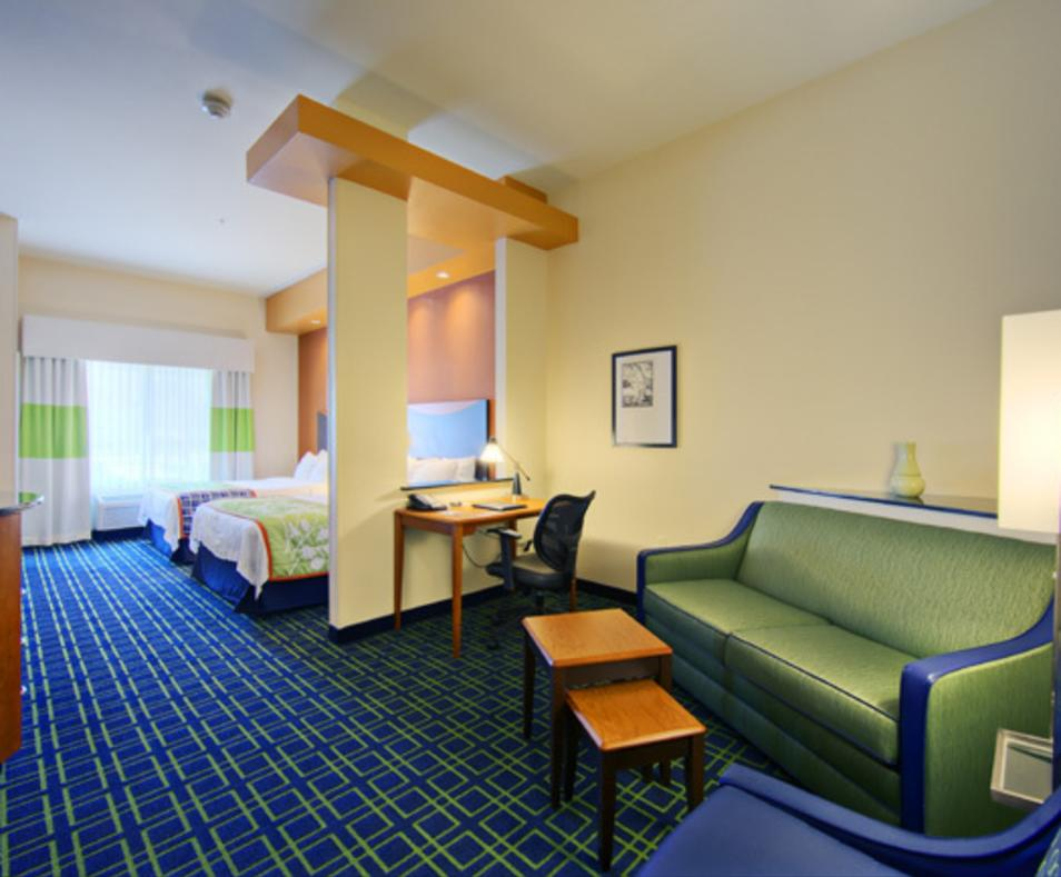 Two bed suite