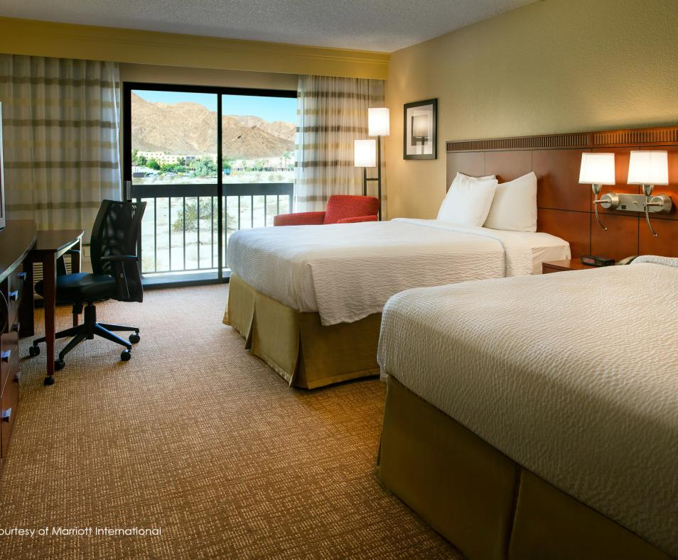 Courtyard by Marriott PS Double Beds with Desert View
