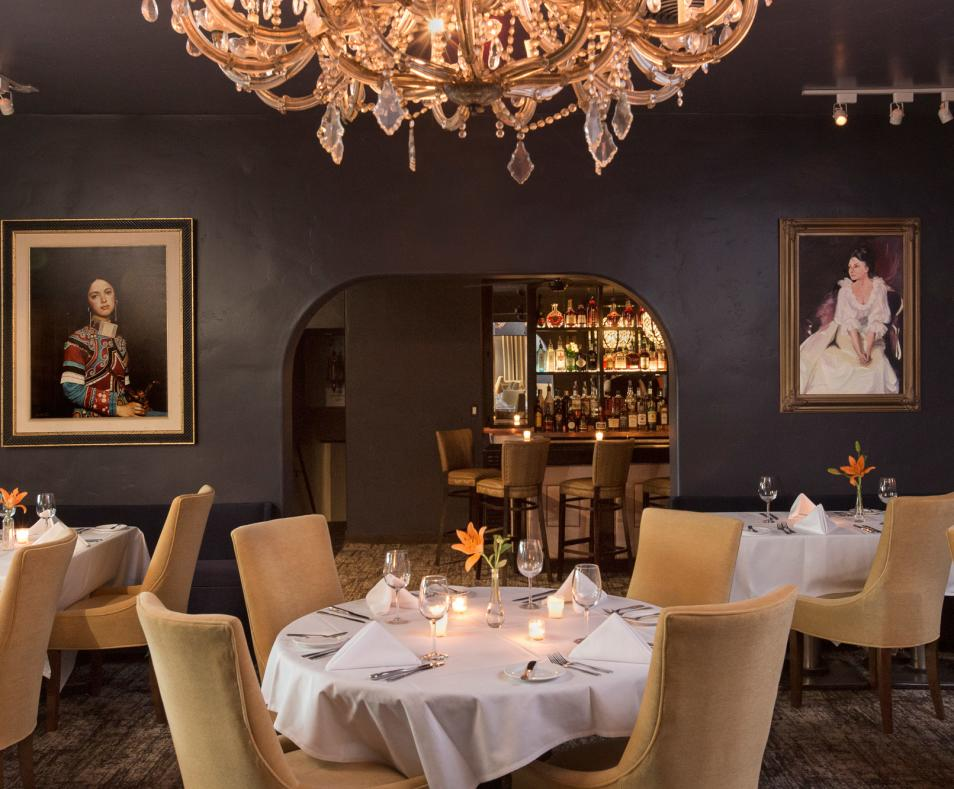 Melvyn's dining room