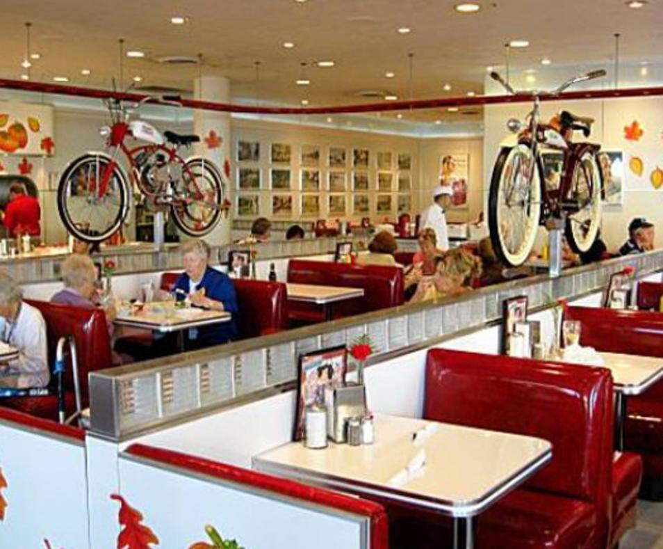 Rubys Diner Palm Springs