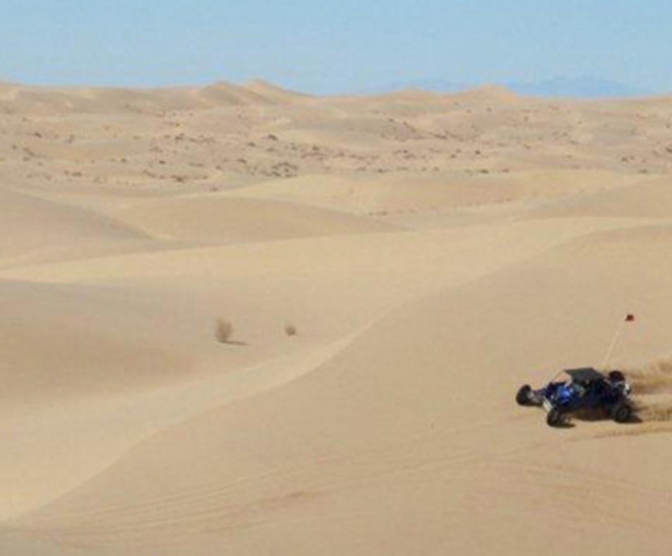 El Centro sand dunes