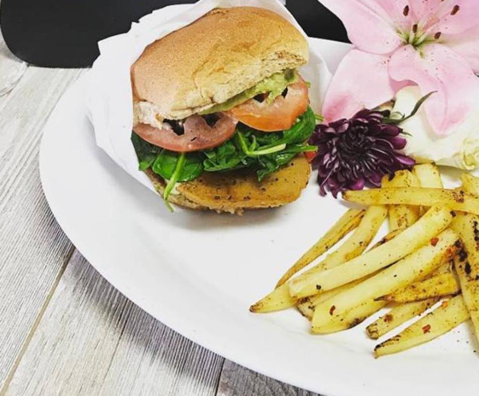 Seitan Burger