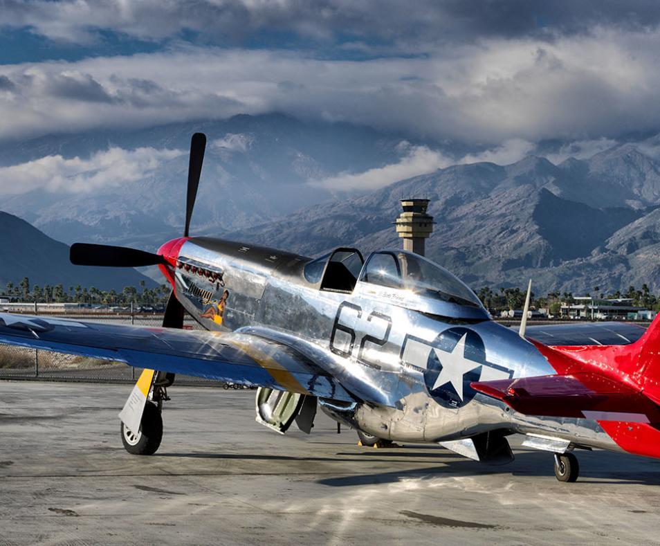 World War II P-51 Mustang