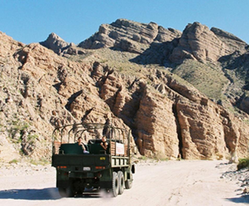Split Mountain jeep tour
