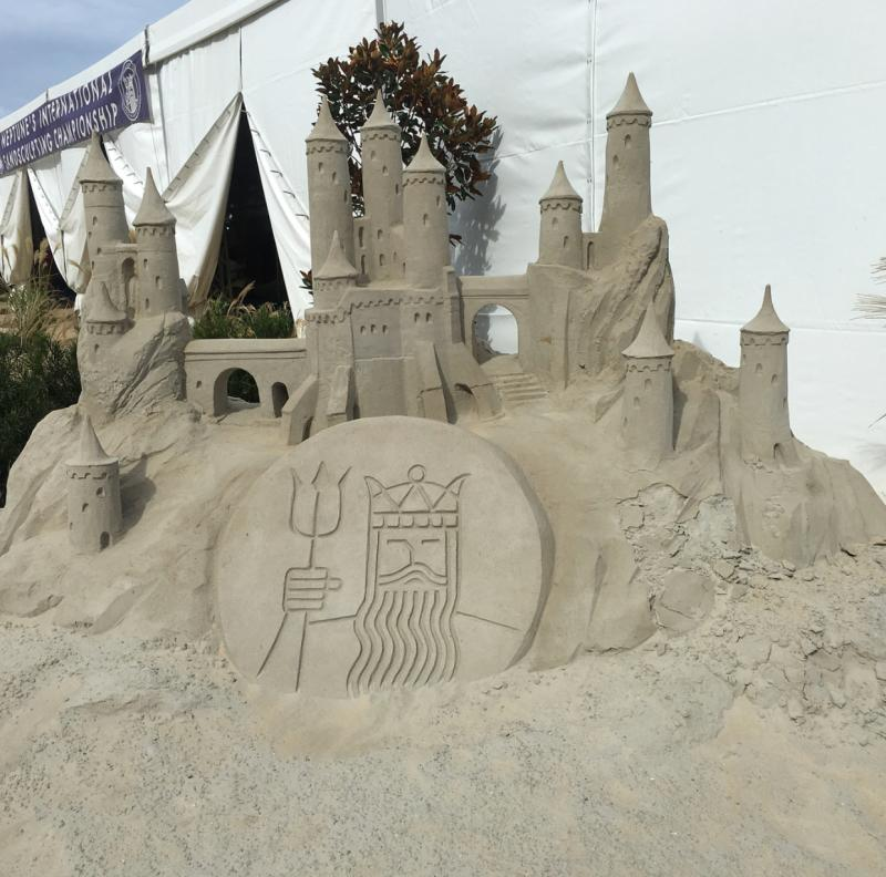 Neptune Festival Sandsculpting