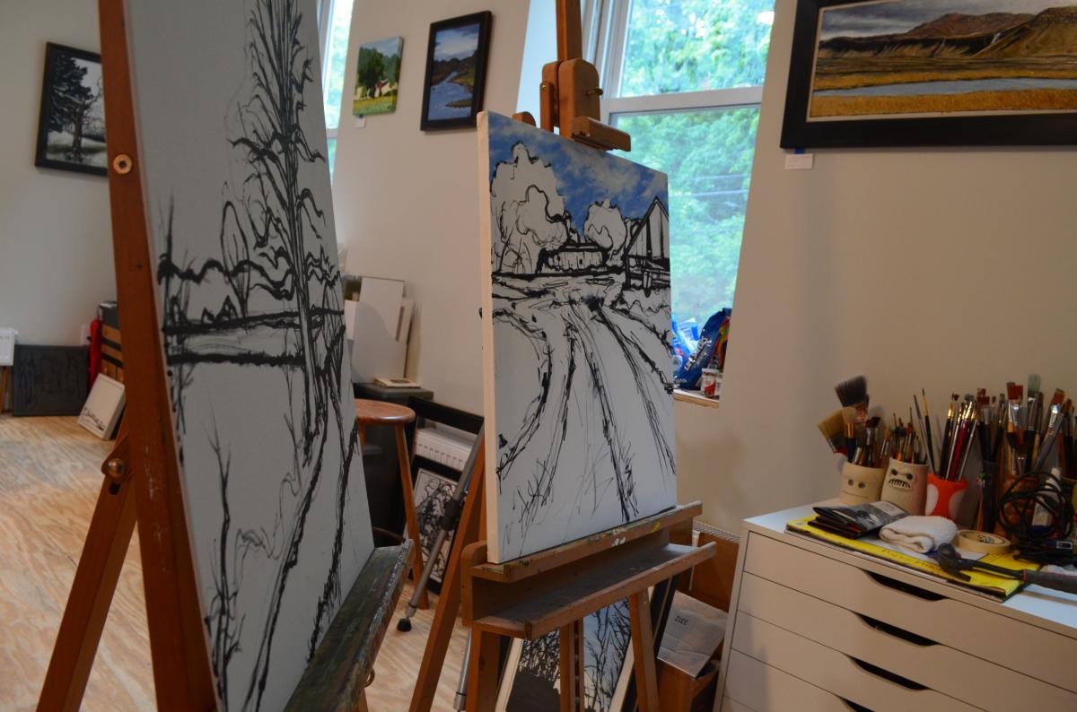 Harry Boardman's works in progress