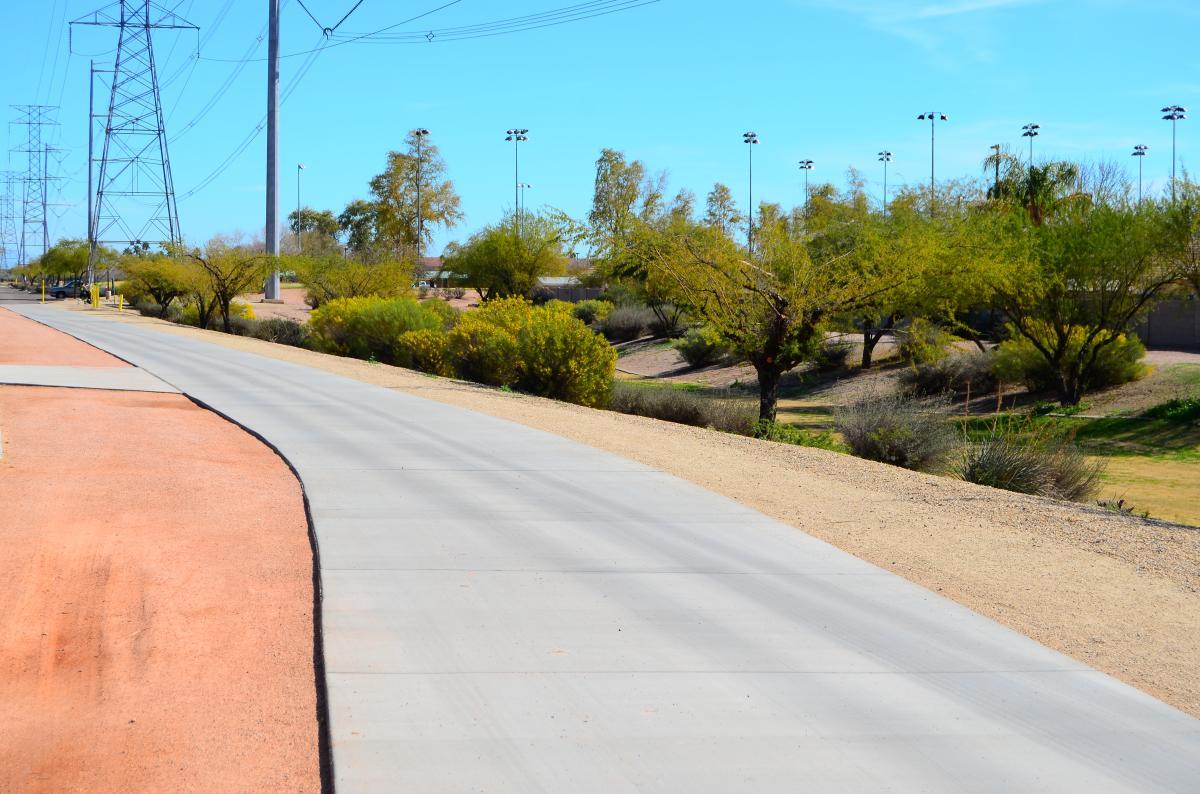 Maricopa Train at McQueen Park