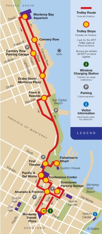 MST Trolley MAP