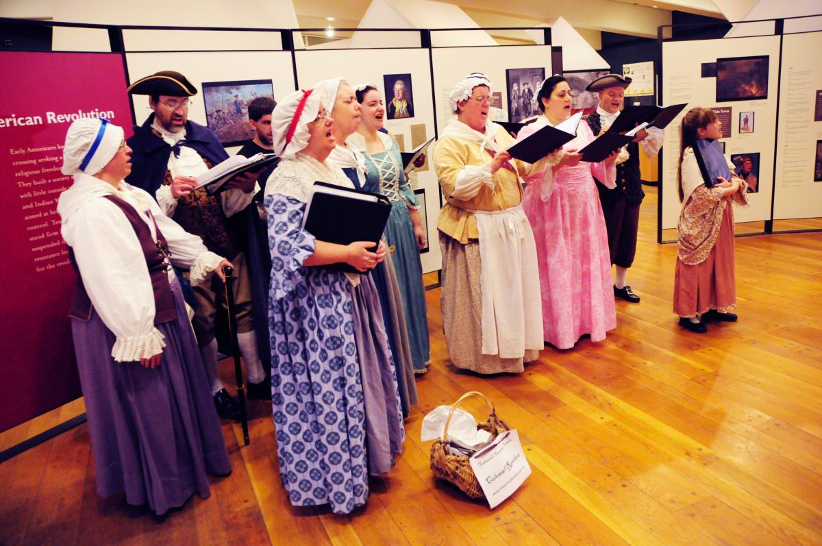 Valley Forge March In Singers