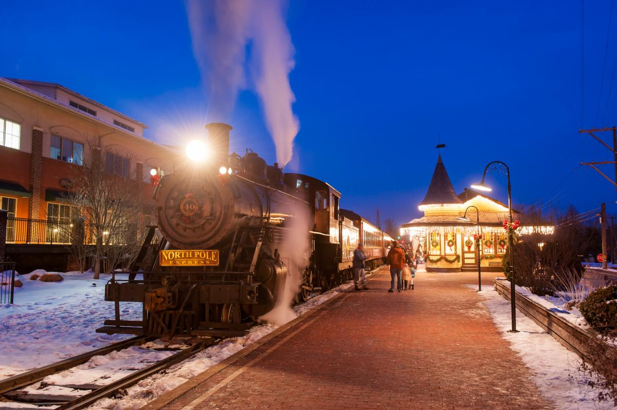 Bring the little ones out to live their Christmas fantasy and hop aboard the North Pole Express for an unforgettable holiday journey!
