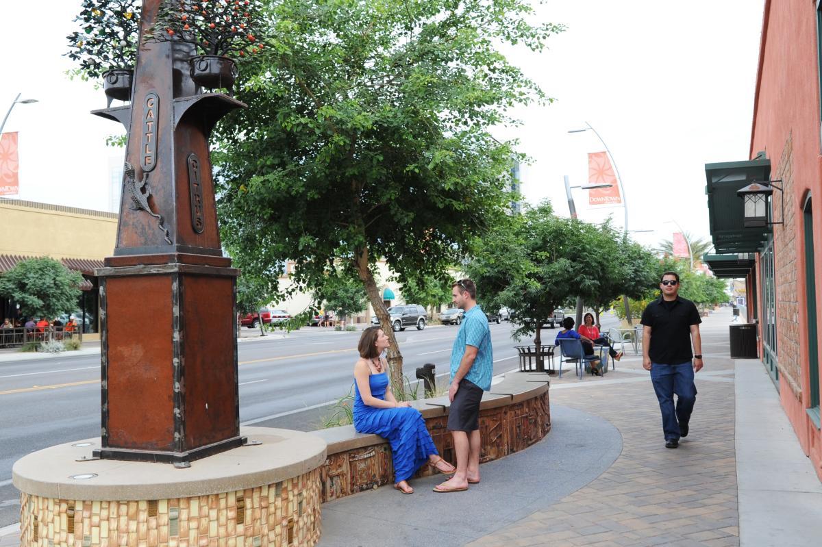 Downtown Chandler Tree-lined Walkways