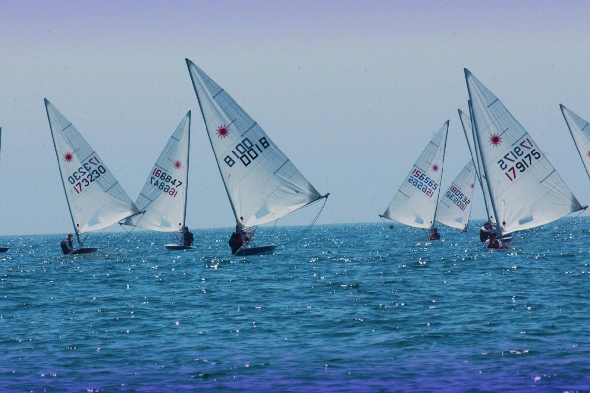 Sailing at Wrightsville Beach
