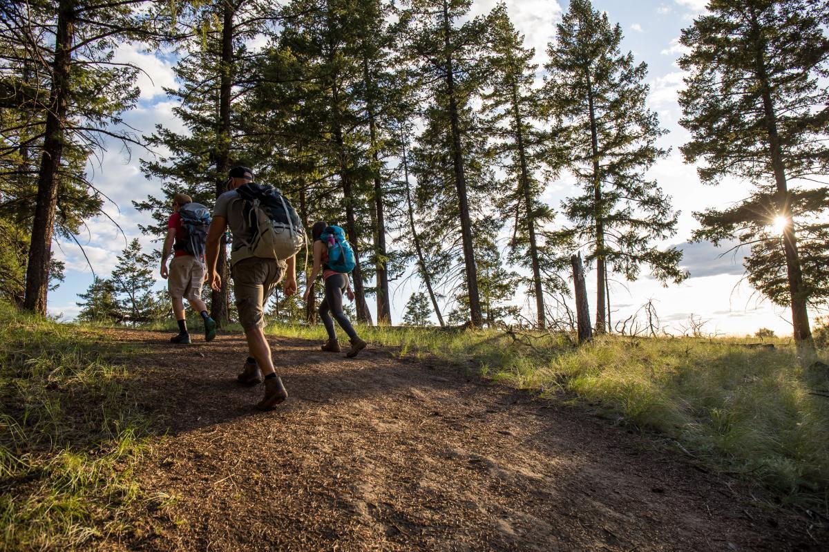 Hiking Battle Bluff
