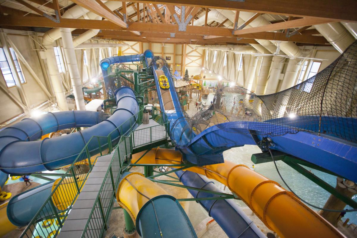 Warm Up Indoors at Great Wolf Lodge
