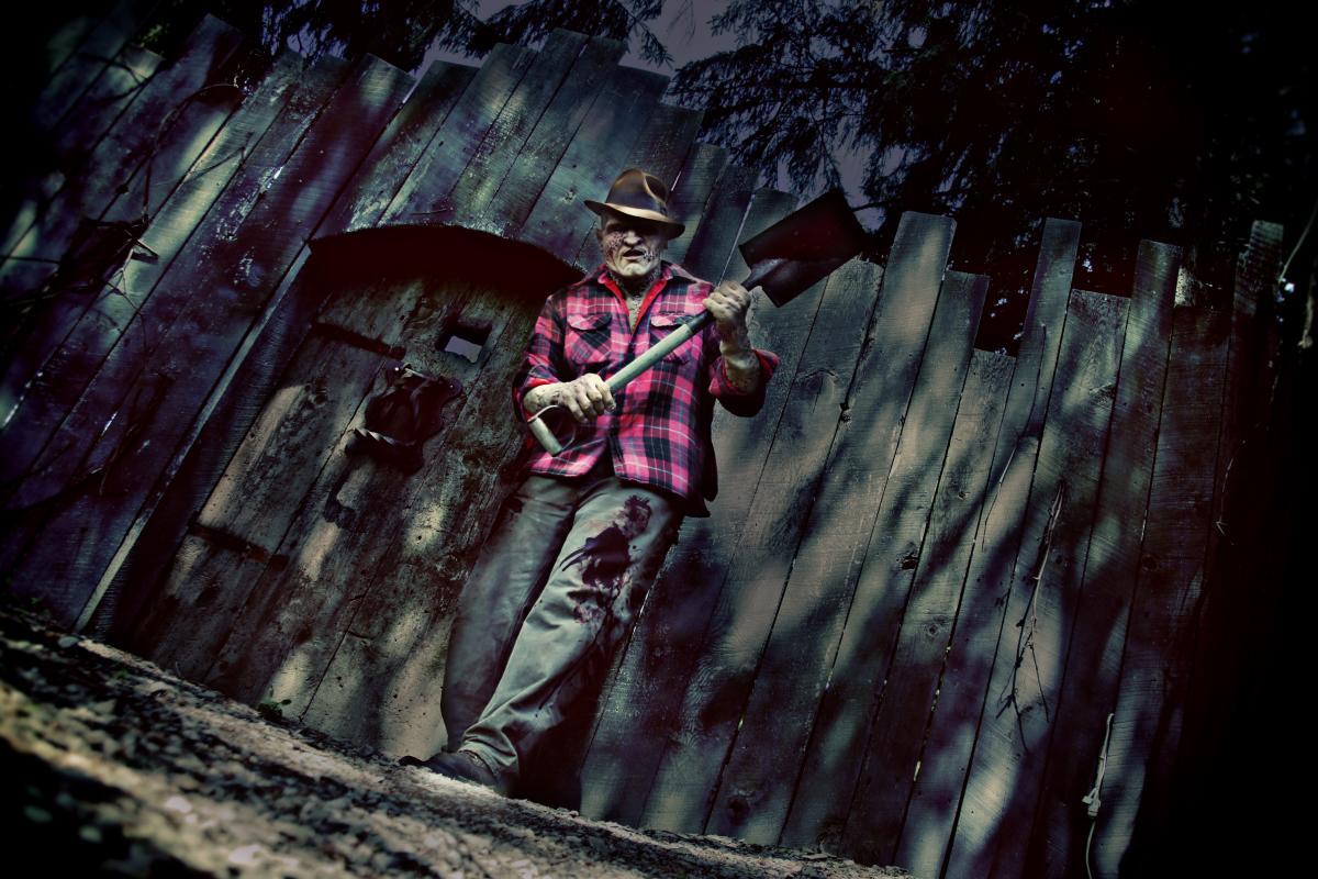 Huston's Haunted Hollow - Man