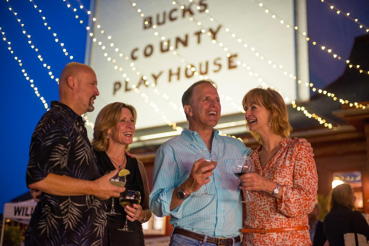 Bucks County Playhouse in the Evening