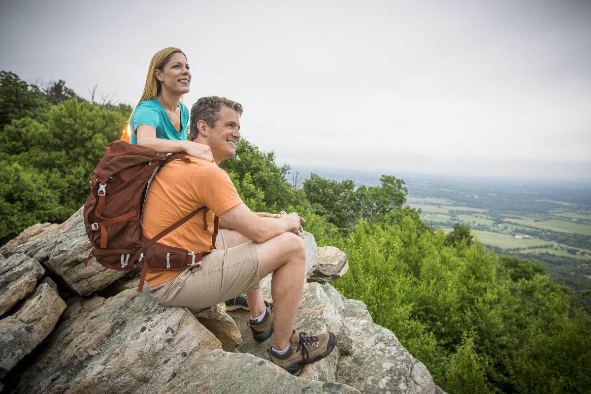Couple at Waggoner's Gap