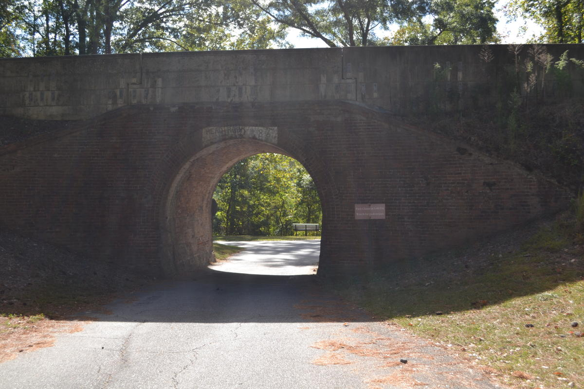 Tunnel at Ocmulgee National Monument