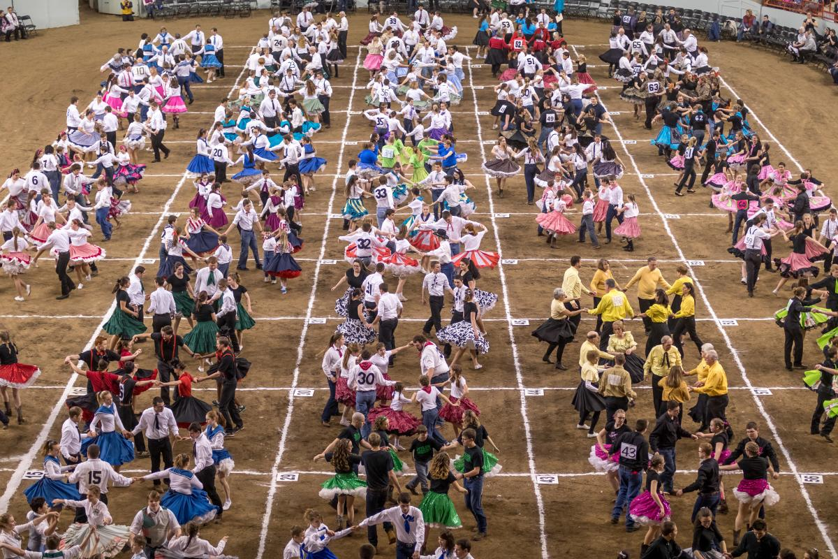 PA Farm Show Event - Square Dancing Arena