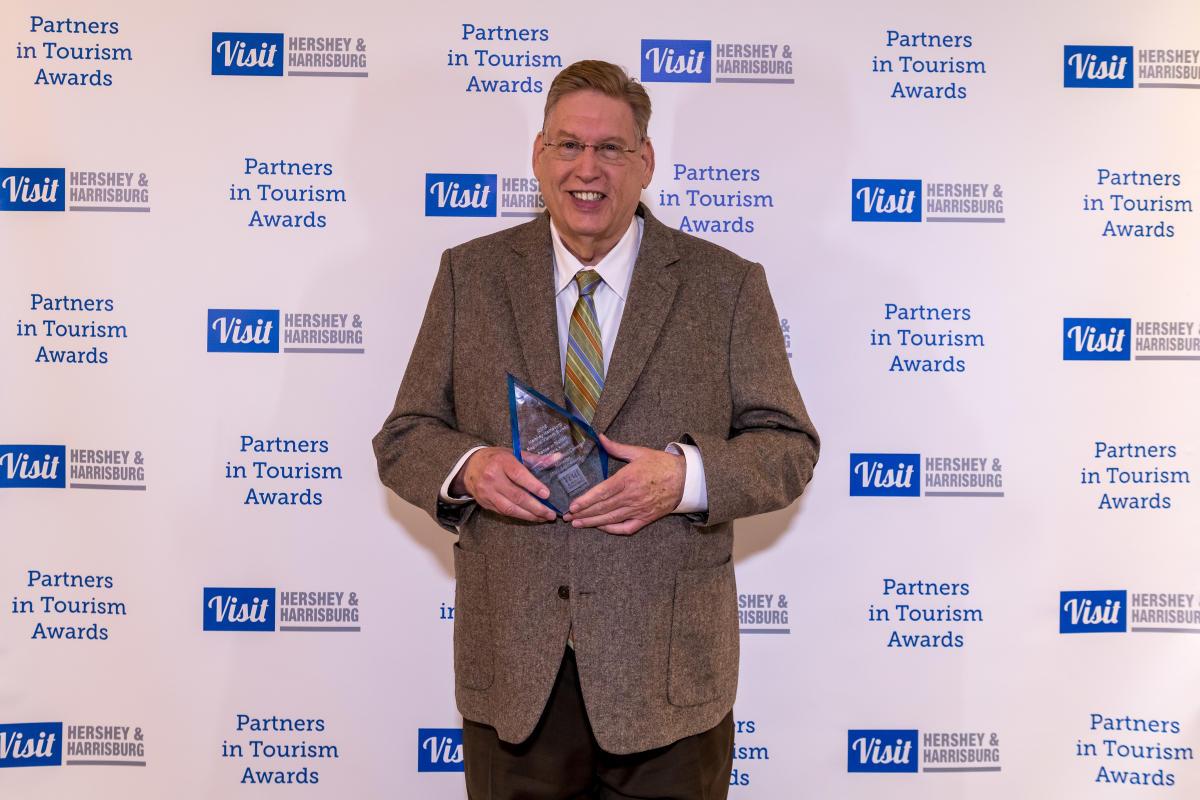 Tourism Awards 2016 - Milestone Award - John Harris Simon Cameron Mansion 250th Year