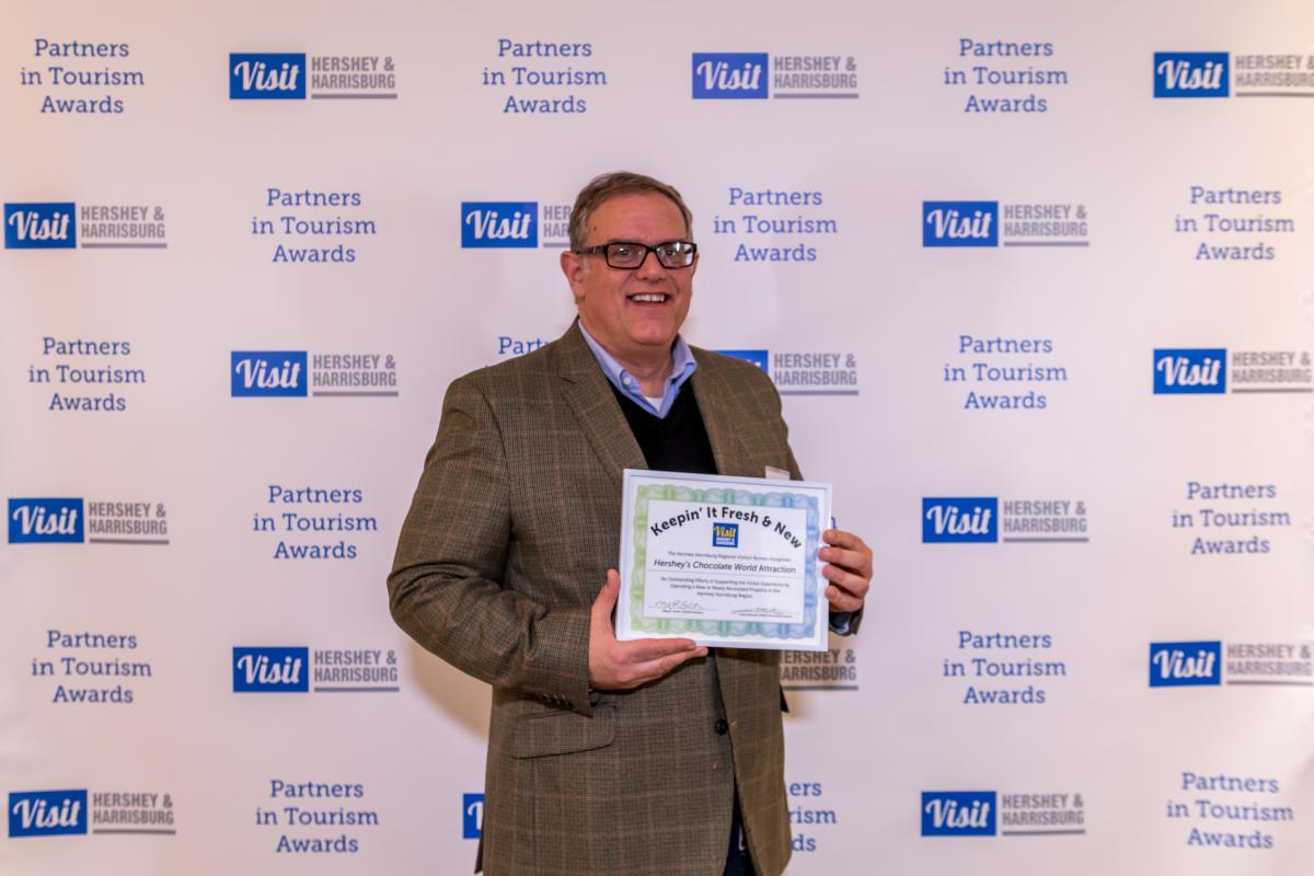 Tourism Awards 2016 - Keepin It Fresh Certificates - Chocolate World