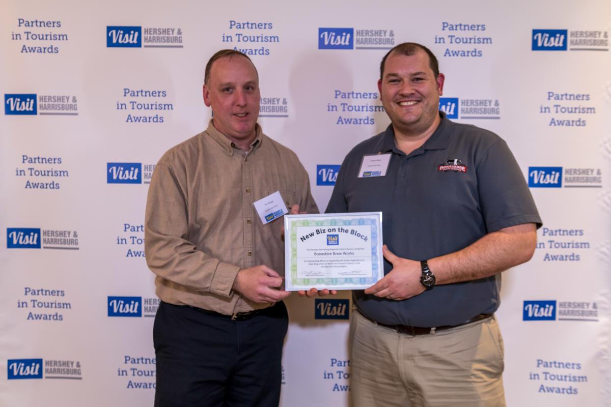 Tourism Awards 2016 - New Business Certificate - Boneshire Brewery