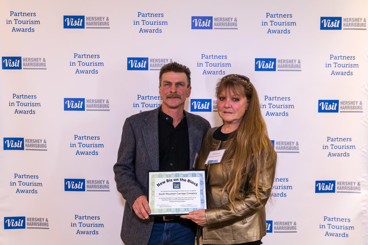 Tourism Awards 2016 - New Business Certificate - South Mountain Carriage Company